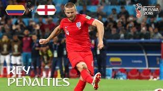Key Penalties – Colombia v England  – MATCH 56