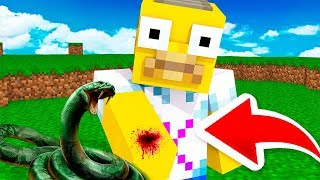 A SNAKE BREATHES ME IN MINECRAFT 😱🐍