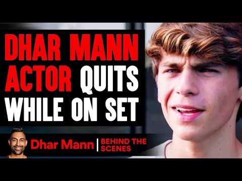 Dhar Mann Actor Quits While On Set (Behind-The-Scenes) | Dhar Mann Studios