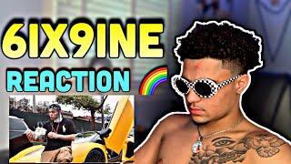 6ix9ine- PUNANI (Official Music Video) REACTION 🌈🔥