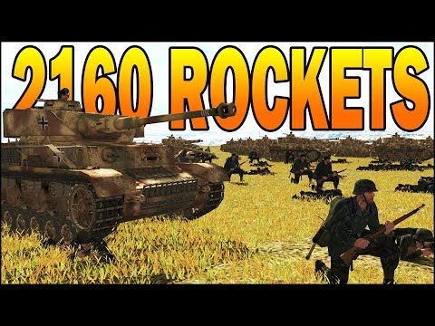 60 T34 CALLIOPE vs PANZER BATTALION - SIMULATION - Combat Mission Battle for Normandy Gameplay thumbnail