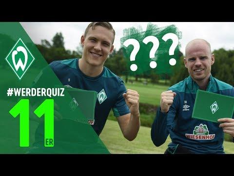 #WERDERQUIZ 11er - Davy Klaassen & Ludwig Augustinsson | SV Werder Bremen