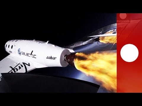 Stunning video: Virgin Galactic SpaceShipTwo goes supersonic in test flight