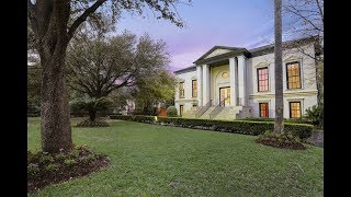 Impressive Palladian-Style Home in Houston, Texas