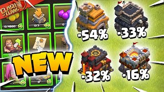 New Starter Challenges and HUGE Reductions - Clash of Clans Update Sneak Peek 2!