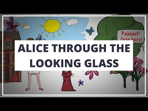 ALICE THROUGH THE LOOKING GLASS BY LEWIS CARROLL // ANIMATED BOOK SUMMARY & REVIEW GUIDE
