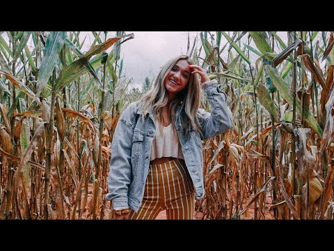 a very spooky vlog... corn maze, haunted house, going to Atl