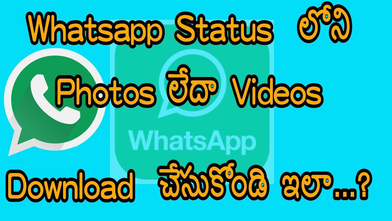 whatsapp status video download 2017 free download telugu