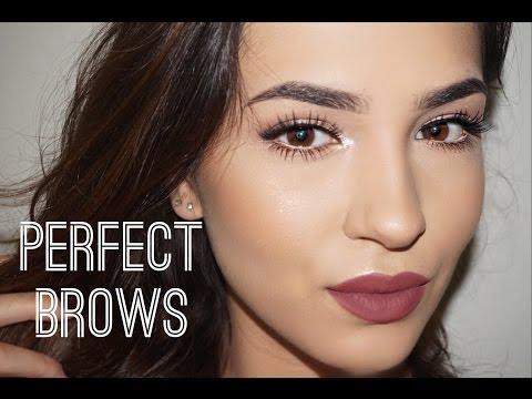 PERFECT BROWS TUTORIAL | KOKOANDCHANEL