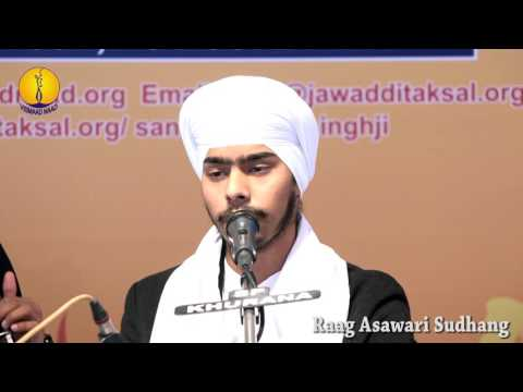 25th AGSS-2016:   Raag Asawari Sudhang Bhai Bakhshish Singh Ji Student of Jawaddi Taksal