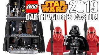 LEGO Star Wars 2019 DARTH VADER'S CASTLE SET!
