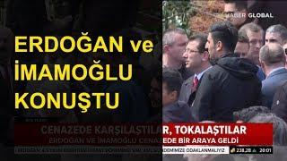 Erdoğan ve Ekrem İmamoğlu Konuştu