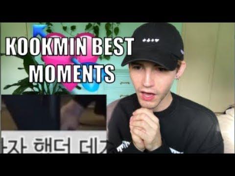 JIKOOK [지국] KOOKMIN [국민] BEST MOMENTS Reaction