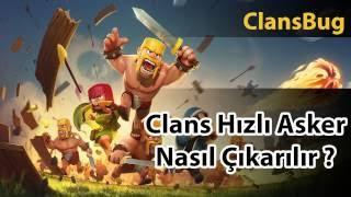 Clash of Clans - Hızlı Birlik Üretme Bugu - Hilesi Kesin Çalışıyor Denendi
