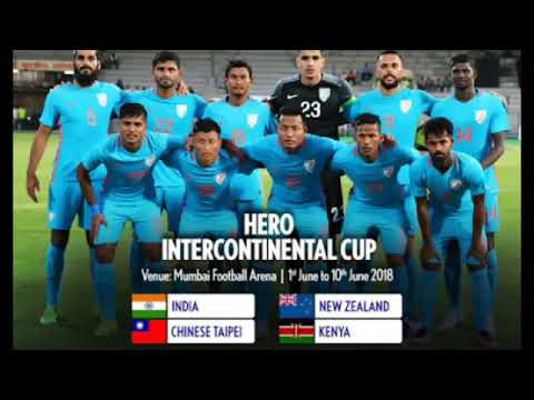 Indian football team squad for 4 teams Intercontinental Cup 2018