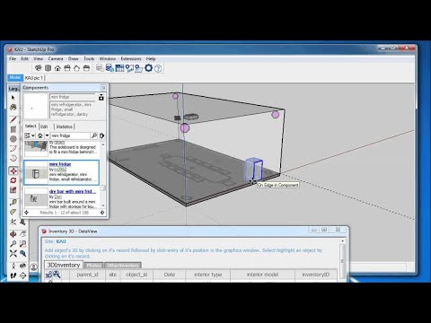 Assign 3D Components to Database Records in Inventory3D ...