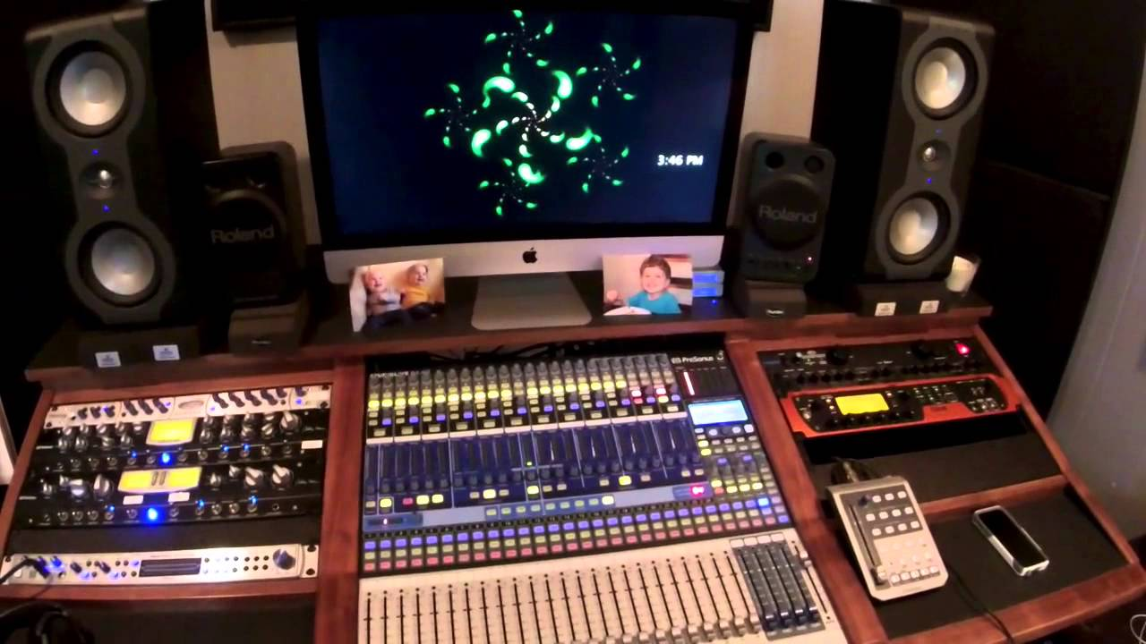 Home studio tour 2014 joe gilder youtube - Home studio ...