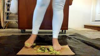 Candice Can Crush An Avocado Barefoot (single angle)