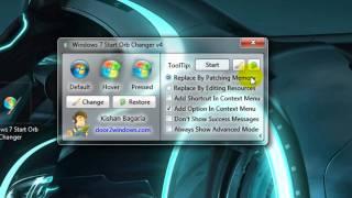 Windows 7 - Startmenü-Button ändern