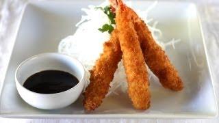 Hand-battered Fried Shrimp (cách Làm Tôm Chiên Xù Kiểu Nhật)