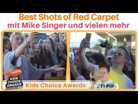 Best Shots of Red Carpet 🎬 mit Mike Singer und vielen mehr... | Kids Choice Awards | 2Flash