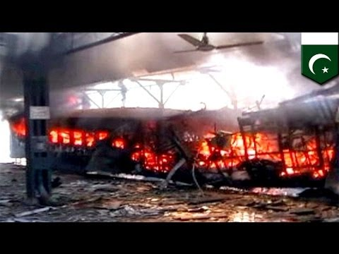 Pakistan bomb blast:  separatists kill at least 17 on express train