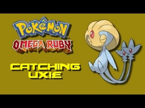 Pokemon Omega Ruby How To Catch Uxie Youtube