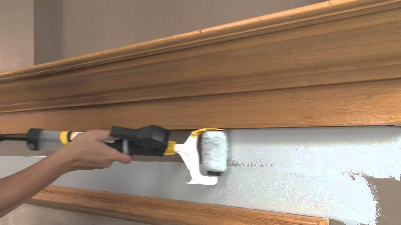 Wagner Smart Edge Roller Painting Youtube