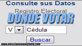 Donde  Votar Como Saber Donde Votar Bs As En Segundos