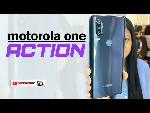 Motorola One Action Smartphone | First Impressions | Tech Tak