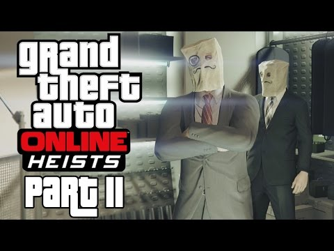 """Grand Theft Auto Online - Heists - Let's Play - Part 11 - """"Series A Funding 2/3"""""""