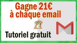 21€ de gains à chaque email (Gagner de l'argent facile)