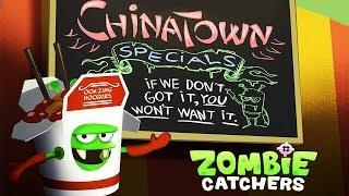 ОХОТА НА ЗОМБИ КИТАЙЦЕВ! Новый продукт ОТВРАТНАЯ ЛАПША Мульт игра детский летсплей Zombie Catchers