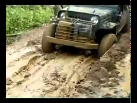 Off Road Jeep (extreme heavy duty made in Burma)