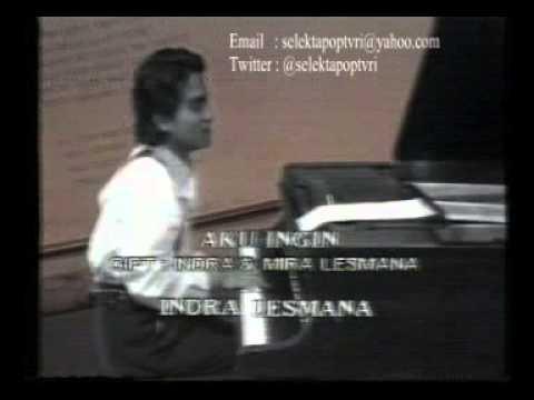 Indra Lesmana - Aku Ingin (TVRI 1990)