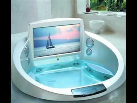 Cool bathroom ideas bathrooms designs inspirations youtube for Cool bathroom designs