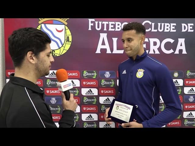 FC Alverca 4 - L. Évora 0 Homem do Jogo