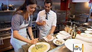 The Early Show - Miami Chef Demos Famous Linguini With Clam Sauce