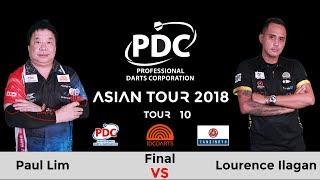 2018 PDC Asian Tour 10 Taipei Final : Lourence Ilagan vs Paul Lim