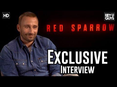 Matthias Schoenaerts talks Red Sparrow & working with Jennifer Lawrence