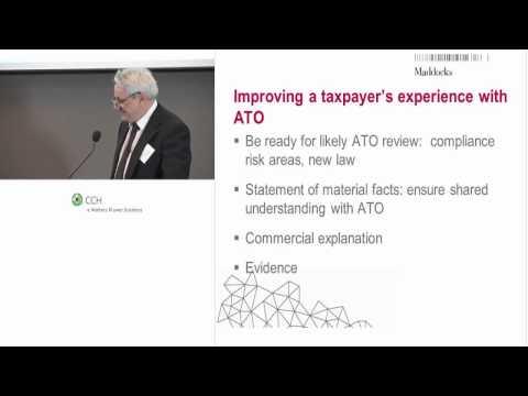2014 06 24 - Tax Risk Workshop