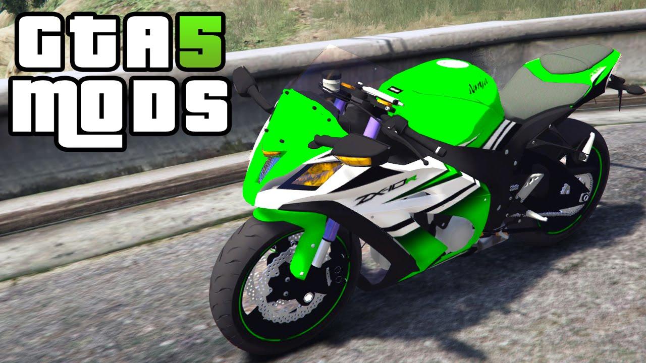 gta 5 ninja bike