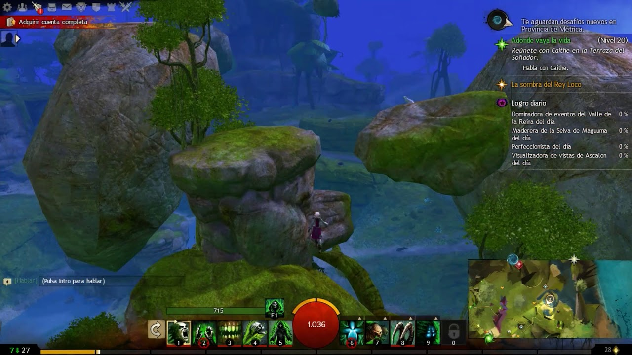 Gw2 Jumping Puzzle Morgan S Leap Caledon Forest