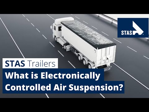 What is ECAS (Electronically Controlled Air Suspension)?