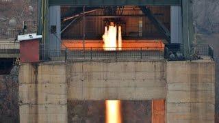 North Korea celebrates rocket engine test