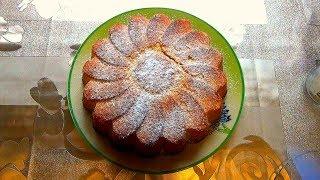 Лимонный пирог. Домашняя выпечка, легко и просто. На заметку каждой хозяйке.