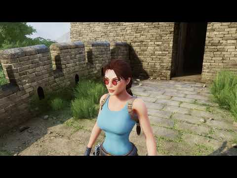 Unreal Engine 4 - Tomb Raider 2- Fantastic fan remake! (Down