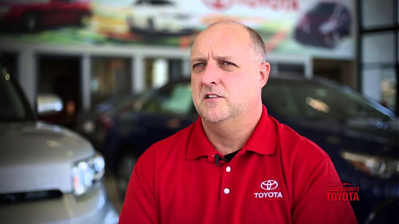 Why Service At Cobb County Toyota!
