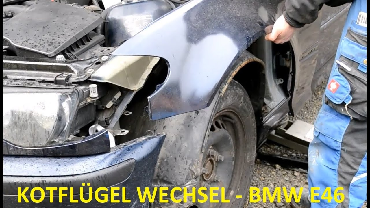 bmw e46 kotfl gel wechsel youtube. Black Bedroom Furniture Sets. Home Design Ideas
