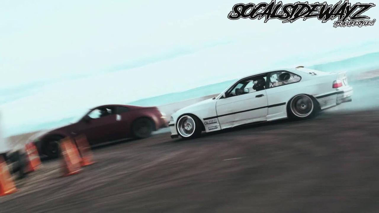 E36 Wide Body Drifting
